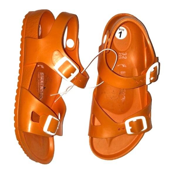37c79bc92cf Birkenstock Other - BIRKENSTOCK kids plastic sandal Damaged